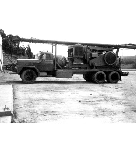 Historical Well Service Rig