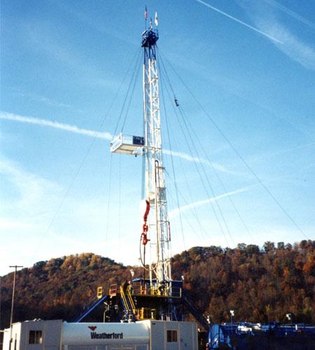 Historic Oilfield Structure